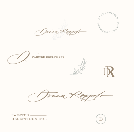 Donna logo variations smaller